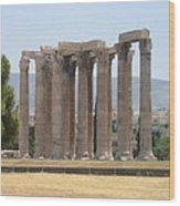 Athens 1 Wood Print