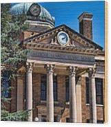 Athens Alabama Historical Courthouse Wood Print