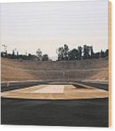 Athens Olympic Field Wood Print