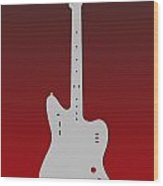 Atlanta Falcons Guitar Wood Print