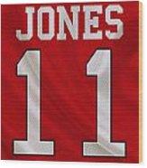 Atlanta Falcons Julio Jones Wood Print