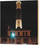 Atlantic City Lighthouse Wood Print