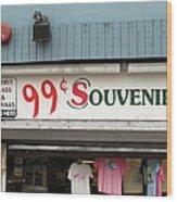 Atlantic City New Jersey - Souvenir Store Wood Print