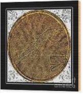 Atlantic Codfish And Jigger - Brass Etching Wood Print