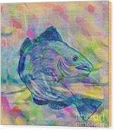 Atlantic Codfish Digital Color Wood Print