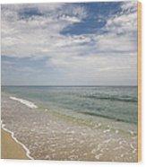 Atlantic Ocean Beach V Wood Print