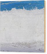 Atlantic Ocean Wave Wood Print