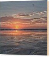 Atlantic Summer Sunrise Wood Print