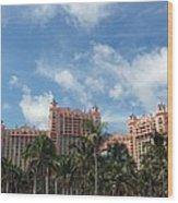 Atlantis Resort At Paradise Island Wood Print