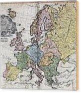 Atlas I Cedid Wood Print