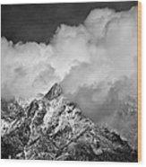Atmospheric Chaos Wood Print