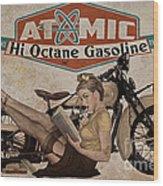 Atomic Gasoline Wood Print