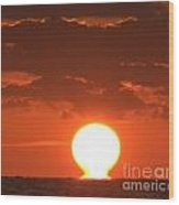 Atomic Sunrise 99 Wood Print