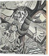 Atonement Wood Print by Glen Sanders