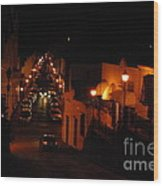 Atop Calle Hostos At Night Horizontal Wood Print