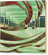 Atrium Wood Print