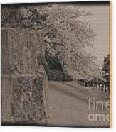 Atsugi Pillbox Walk  C1 Wood Print