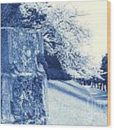 Atsugi Pillbox Walk  E1 Wood Print