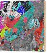 Attributes Of Aggression Three Wood Print