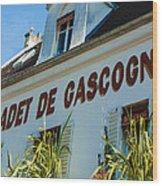 Au Cadet De Gascogne Wood Print