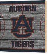 Auburn Tigers Wood Print