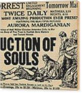 Auction Of Souls Wood Print