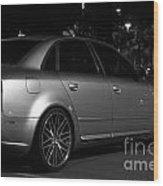 Audi 2 Wood Print