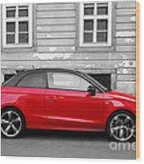 Audi A1 Car Wood Print