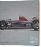 Audi R8 Le Mans Wood Print