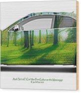 Audi S5 Coupe Mississippi Fort Cobun  Wood Print