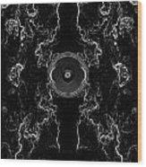 Audio Mono Wood Print