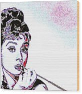 Audrey Hepburn 20130330 Wood Print