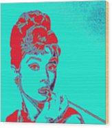 Audrey Hepburn 20130330v2p128 Square Wood Print