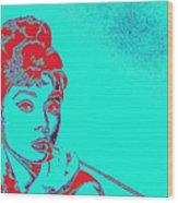 Audrey Hepburn 20130330v2p128 Wood Print