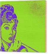 Audrey Hepburn 20130330v2p38 Wood Print