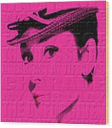 Audrey Hepburn 4 Wood Print