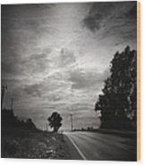 Auf Dem Heimweg Wood Print