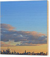 August Early Evening Toronto 4  Wood Print