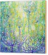 August Enchanted Wood Print