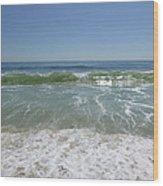 August Ocean Wood Print