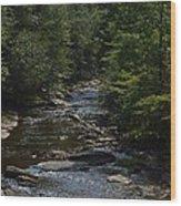 August On Gandy Wood Print