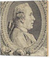 Augustin De Saint-aubin After Charles-nicolas Cochin II Wood Print