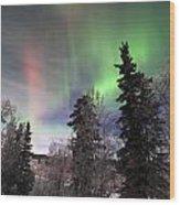 Aurora 2015 Wood Print