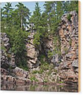 Ausable Chasm 1608 Wood Print