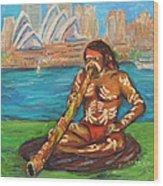 Aussie Dream I Wood Print