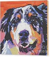 Aussie Luv Wood Print