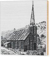 Austin Church Wood Print