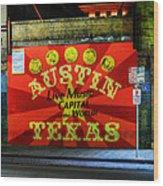 Austin Hdr 006 Wood Print
