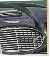 Austin-healey 3000 Grille Emblem Wood Print