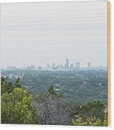 Austin Horizon Wood Print